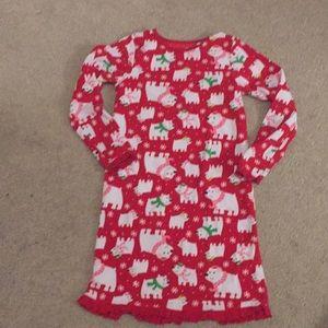 Other - Girl's Carter's fleece nightgown